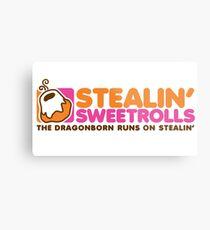 Stealin' Sweetrolls Metal Print