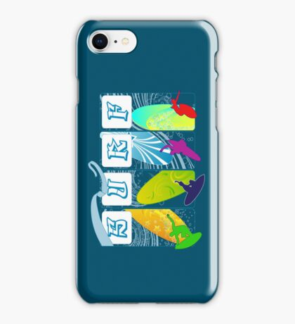 Surf Dudes!!!! iPhone Case/Skin