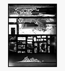 [Broken] Monochrome Impact Photographic Print