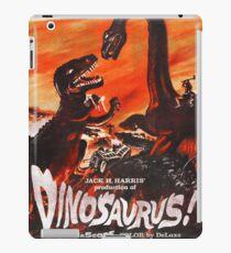 Dinosaurus poster iPad Case/Skin