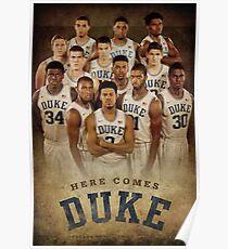 Duke basketball Poster