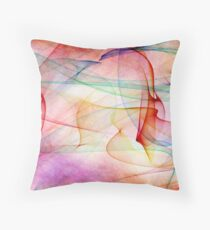 A Flaming Paradox Throw Pillow