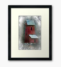 First Snowfall This Season Framed Print