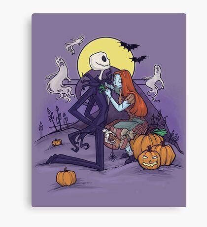 Halloween Hero Canvas Print