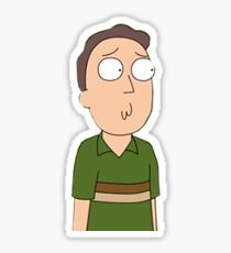 Rick and Morty Jerry  Sticker