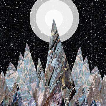 Mond Berge von steveswade
