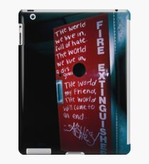 The World WILL END! iPad Case/Skin
