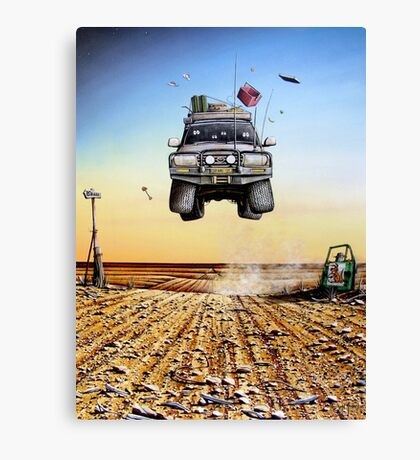 Are We There Yet?! Toyota Canvas Print