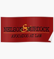 Avocados at Law Poster
