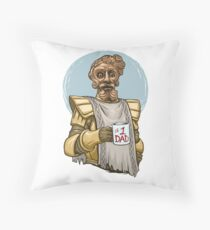 Giant Dad Throw Pillow