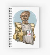 Giant Dad Spiral Notebook