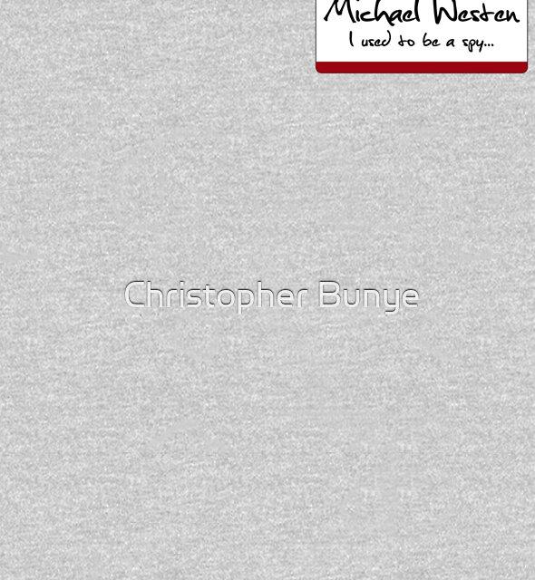 """Nametag Parody: Burn Notice - """"My Name Is Michael Westen"""" by Christopher Bunye"""