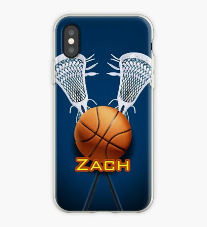 Basketball Lacrosse - iPhone Case iPhone Case