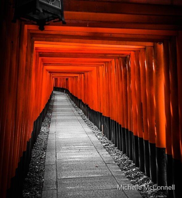 Fushimi Inari Shrine by Michelle McConnell