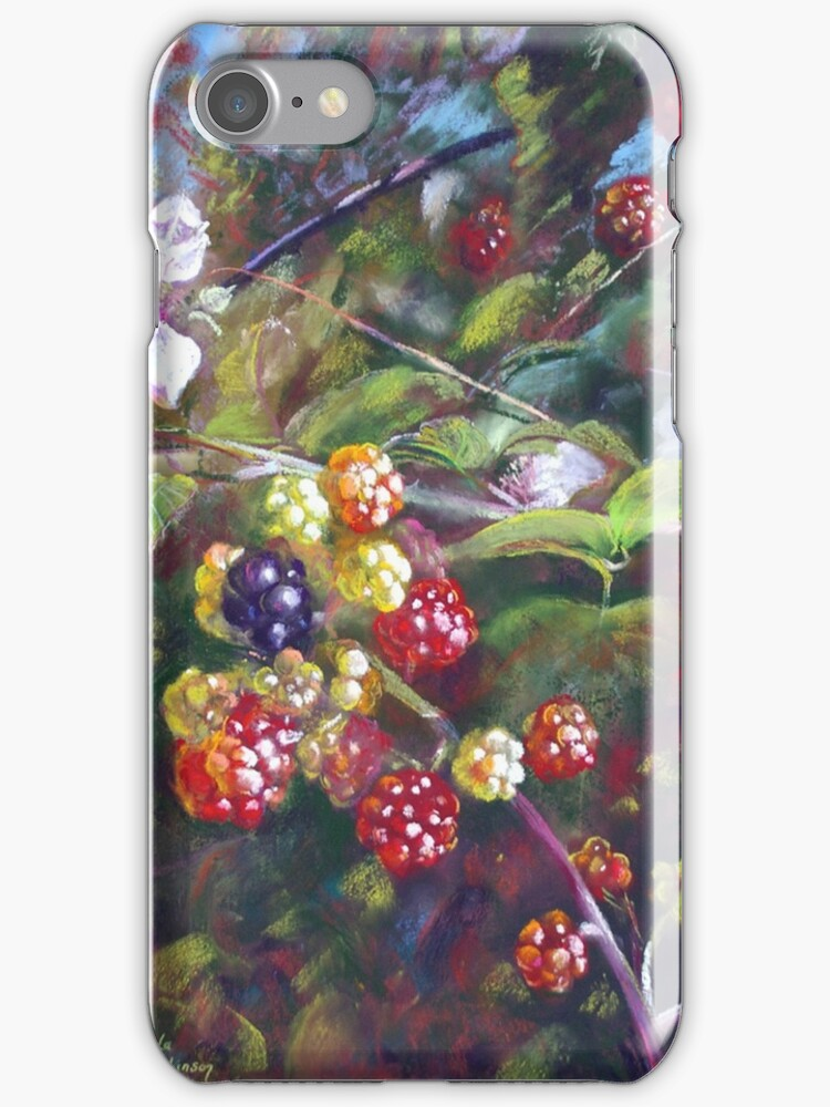 Luscious or Noxious iphone or Ipod Case by Lynda Robinson