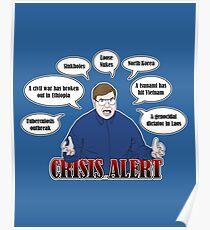 Community -- CRISIS ALERT! Poster