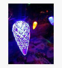 Shiny Christmas Photographic Print