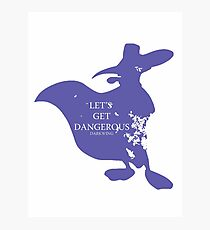 House Darkwing Photographic Print