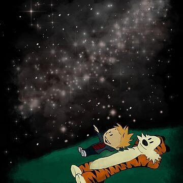 Star Gazing Buddies by ChiChiDesigns