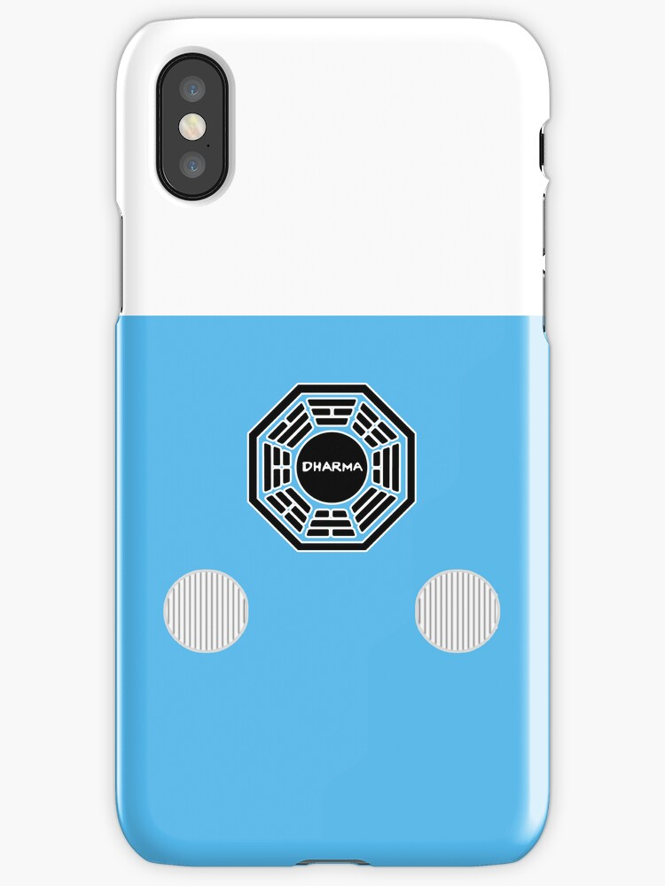 Lost Dharma initiative Utility Bus Iphone Case. by jakehoss
