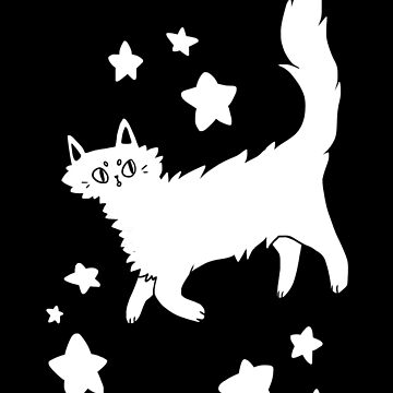 Astro Cat by teecup