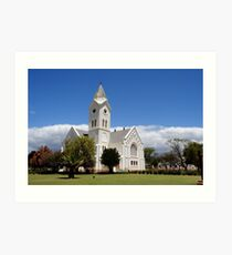 MgGregor Kerk, Suid-Afrika Art Print