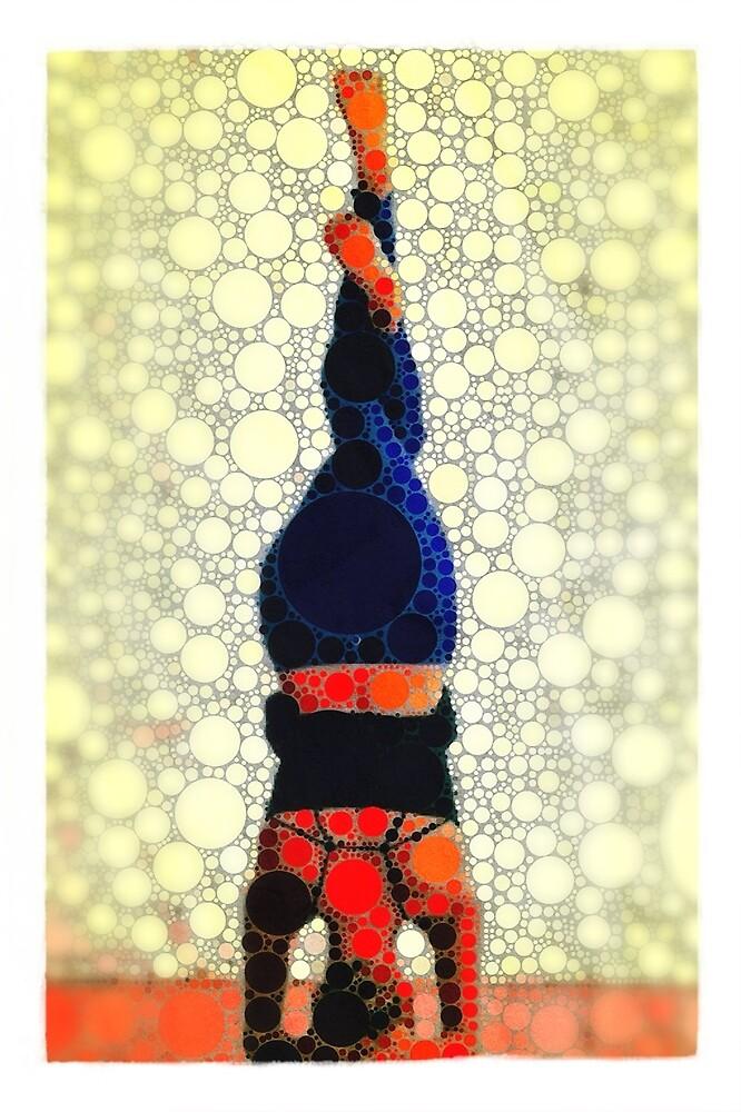 Yoga art 1 by John Dalton