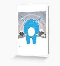 Abominable Greeting Card