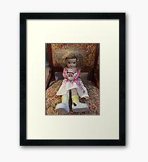 Porcelain Doll ~ Crazy Girl Framed Print