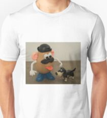Mr Potato Head and his doggy  Unisex T-Shirt