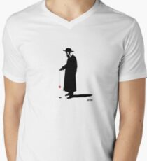 Rabbi without a cause Men's V-Neck T-Shirt