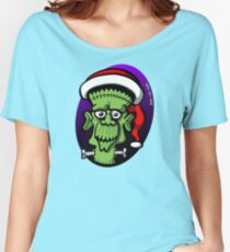 Christmas Frankenstein Women's Relaxed Fit T-Shirt