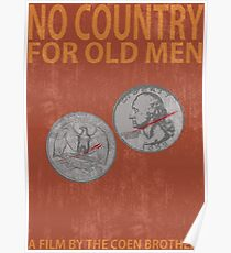 No Country For Old Men Minimalist Poster Poster