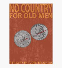 No Country For Old Men Minimalist Poster Photographic Print