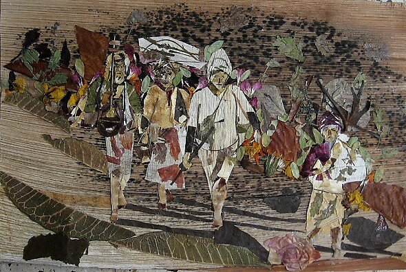 Returning from Village-Market by BasantSoni
