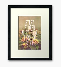 Every Flower Framed Print