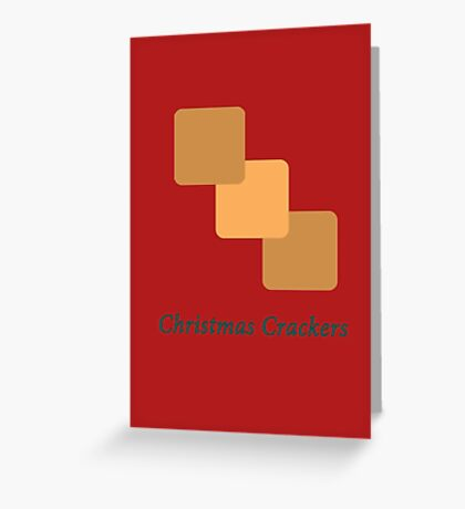 Christmas Crackers (Edible) Greeting Card