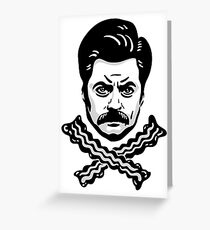 Jolly Swanson Greeting Card