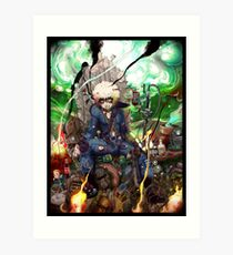 The messiah of the Wasteland Art Print