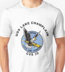 USS Lake Champlain (CV/CVA/CVS-39) Crest T-Shirt