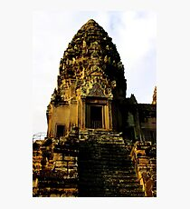 Sunrise on Angkor Wat IV - Angkor, Cambodia. Photographic Print