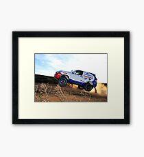 Toyota Dakar Race Car .... Framed Print