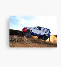 Toyota Dakar Race Car .... Canvas Print
