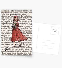 Armfuls Bücher Postkarten