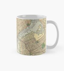 Taza Vintage Map of New York City (1910)