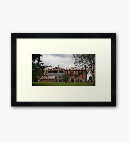 The Asylum #2 Framed Print