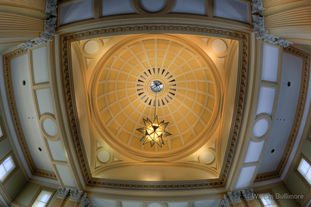The Dome at Customs House • Brisbane • Queensland by William Bullimore