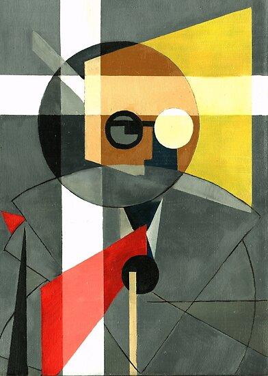 Rudolf Carnap by Renee Bolinger