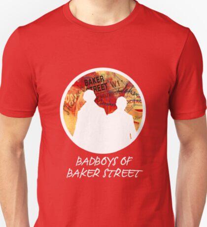 Bad Boys of Baker Street Modern Edition (White) T-Shirt
