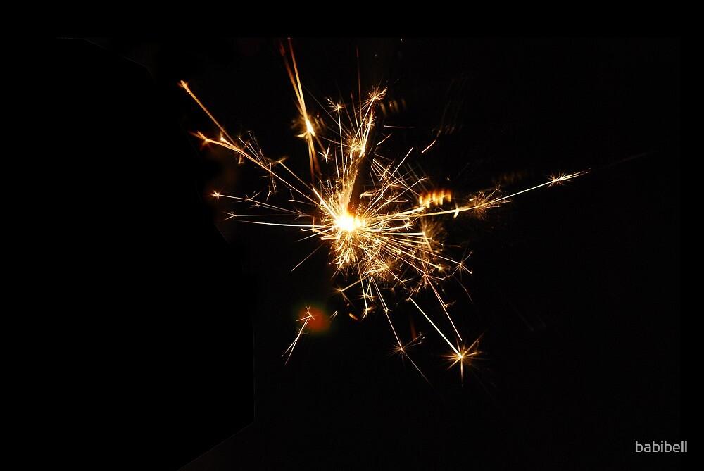 Sparkler by babibell